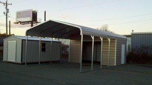 Combo Carport (The Mullet)